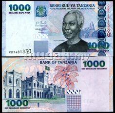 Tanzania 1000 shillings 2006 p 36 unc