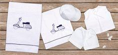 oil cloth set 6 pieces, ladopano,ladopana, λαδόπανα, set underwear baptism vaptism vaptisi Baby Shower Gifts, Baby Gifts, Underwear, Baptism Favors, Unique Christmas Gifts, Christening Gifts, New Year Gifts, Cotton Towels