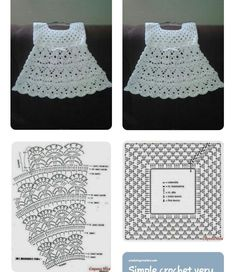 Smocking Patterns Baby Patterns Crochet Motifs Crochet Patterns Baby Girl Dresses Baby Dress Crochet For Kids Baby Knitting MacrameImage gallery – Page 307863324526319619 – Artofit Crochet Toddler Dress, Crochet Baby Dress Pattern, Black Crochet Dress, Baby Dress Patterns, Crochet Fabric, Crochet Motifs, Baby Girl Crochet, Crochet Baby Clothes, Crochet For Kids