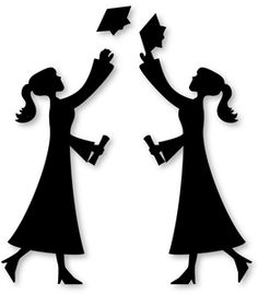 silhouette design store view design 26998 grad girl graduation