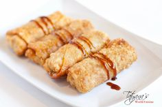 These egg rolls are very easy and quick to make. They go perfectly with other oriental dishes like teriyaki chicken and rice.