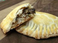 Roasted veggie and ricotta hand pies.