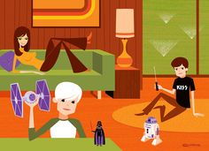 """From the """"May The Fourth Be With You: A Star Wars-themed group show."""""""