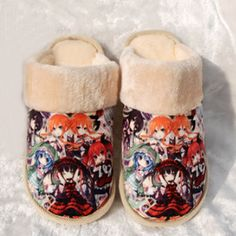 Camplayco Love Live Warm Winter Soft Slippers Indoor Shoes Cosplay Size:5.5(US) -- Want to know more, click on the image.