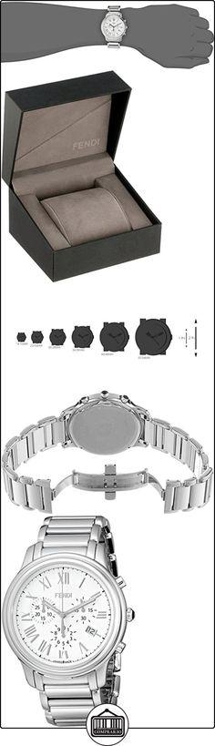 Fendi Classico Men's 42mm Chronograph Synthetic Sapphire Quartz Watch F252014000  ✿ Relojes para hombre - (Lujo) ✿