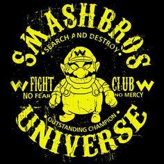WARRIOR CHAMPION T-Shirt $12.99 Super Smash Bros tee at Pop Up Tee!