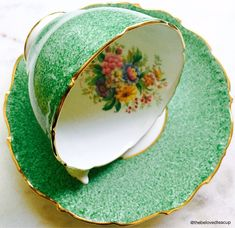 A personal favorite from my Etsy shop https://www.etsy.com/ca/listing/582260123/coalport-china-spring-green-antique