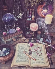 witch aesthetic The Green Witch: The Completed Guideline For Beginners WitchCraft 101 Witch Cottage, Witch House, Witch Decor, Witch Art, The Witch, Fantasy Witch, Witch Room, Green Witchcraft, Pagan Witchcraft