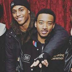 Algee Smith & Keith T. Powers #BlackBoyJoy