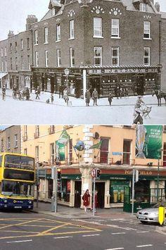 Photos Compare Dublin 1916 Then and Now - Streachailt Frith-Impiriúlachas in Éirinn \ Anti-Imperialist Struggle in Ireland - Soviet. Then And Now Pictures, Old Pictures, Old Photos, Ireland Pictures, Vintage Photos, Ireland 1916, Dublin Ireland, Dublin City, The Far Side