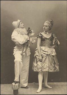 Sarah Bernhardt and Gabrielle Rejane