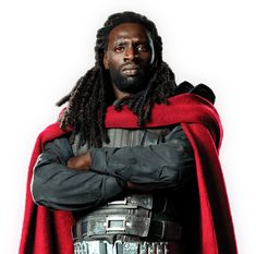 X-Men Days of Future Past | Official Movie Site | Omar Sy as Bishop - With the capability to absorb and re-channel energy, Bishop provides much-needed firepower for the X-Men at a time when they need it the most.