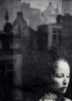 "photo by antonio palmerini ""legend says, when you can't sleep at night, it's because you're awake in someone else's dream. Monochrome Photography, Black And White Photography, Street Photography, Contemporary Photography, Photo Portrait, Photo Art, Portrait Photography, Alternative Photography, Kunst Online"