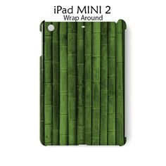 Green Wood Bamboo iPad Mini 2 Case Cover Wrap Around