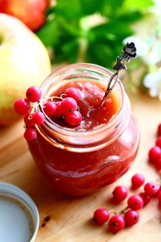 Food Inspiration, Sweet Recipes, Sweet Tooth, Cherry, Food And Drink, Homemade, Canning, Fruit, Vegetables