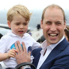 Prince William and Duchess Kate Were SURE Prince George Would Love the Air Show, But Then These Pics Were Taken