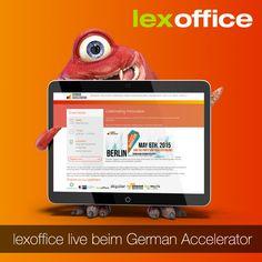 Heute sind Blanche und Tatjana in Berlin und stellen lexoffice auf dem German Accelerator vor http://www.lexoffice.de/blog/german-accelerator/