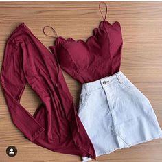 Esse look ta aprovado? Disponivel pra você comprar na @ejmodas tem muitos look perfeitos ❤ Sigam e não percam nenhuma novidade! O preço…