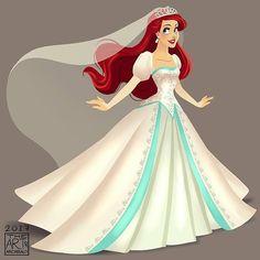 @Regrann from @archibald.art . . . . #TheLittleMermaid #PrincessAriel #Ariel #ArielMermaid #ArielWedding #DisneyPrincess #DisneyMermaid #archibaldart