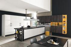 Kitchens - Marina Line Interior Design Kitchen, New Kitchen, Home Furnishings, Kitchen Cabinets, House Design, Table, Fitted Kitchens, Modern Kitchens, Home Decor