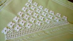 Derya Baykal Lace samples - Her Crochet Filet Crochet, Crochet Lace Edging, Crochet Borders, Crochet Doilies, Crochet Stitches, Crochet Curtains, Seed Bead Tutorials, Beading Tutorials, Crochet Home