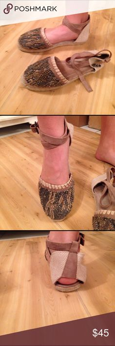 New In Box Bacío 61 Espadrilles Natural Bacío 61 Sandals from Neiman Marcus. Originally 125, I paid $79 never used new in box bacío 61 Shoes Espadrilles