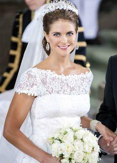 Magdalena de Suecia y Catherine Middleton, dos inolvidables novias de la realeza europea