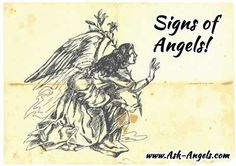 Angel Signs ~ 12 Signs Your Angels Are With You! - http://www.ask-angels.com/spiritual-guidance/angel-signs-12-signs-your-angels-are-with-you/