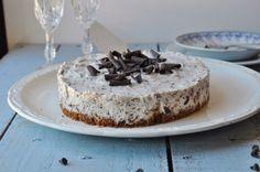 Cheesecake stracciatella (sans cuisson)