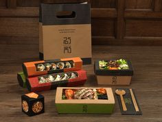 Wasabi founder Dong Hyun Kim will open two new restaurants under the Kimchee brand next month that will aim to make Korean food & and accessible to all& - Takeaway Packaging, Packaging Box, Food Packaging Design, Brand Packaging, Sushi Design, Food Design, Sushi Lunch, Sushi Restaurants, Food To Go