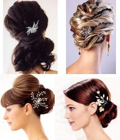 A breathtaking collection of Bridal Hair Accessories of Bridal Hair Accessories Wedding Hair Accessories : Wedding Cakes wedding hair acce. Wedding Hairstyles For Women, Up Hairstyles, Pretty Hairstyles, Bridal Hairstyles, Hairstyle Ideas, Classic Hairstyles, Trending Hairstyles, Formal Hairstyles, Vintage Hairstyles