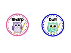 free===Sharp and Dull Pencil Owls