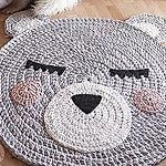 Free Crochet Rug Patterns - this one is so cute!