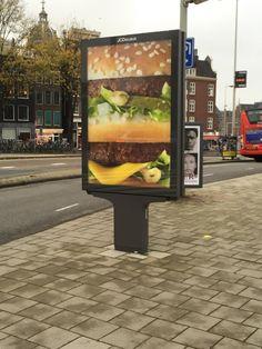 Amsterdam burger bil