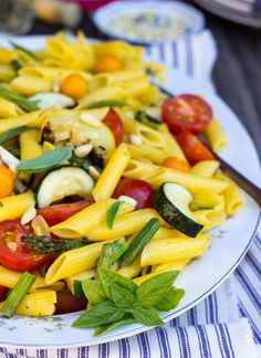 Grilled Summer Vegetable Salad with Roasted Garlic