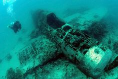 WWII wreck diving in Papua New Guinea