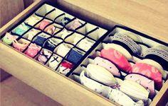 Organization For Teen/Women Drawers #Various #Trusper #Tip