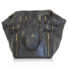 Yves Saint Laurent Gray Sting Ray Downtown Tote http://www.consignofthetimes.com/product_details.asp?galleryid=7423