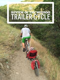 Weehoo bike trailer.  Perfect for a family bike ride. Read the review and buy at rascalrides.com.