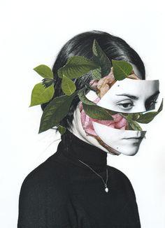 Los preciosos collages de la fotógrafa, diseñadora y editora Rocío Montoya. --- ROCÍO MONTOY...
