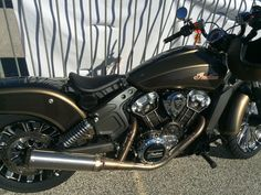 Another Custom Indian Scout.