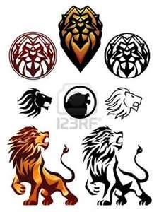 Lion Symbol Royalty Free Cliparts Vectors And Stock Illustration