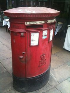 This summer I had the treat of spending two weeks in London, walking the city, haunting coffee shops, and uncovering treasures. Letter Boxes, Telephone Booth, You've Got Mail, Mail Boxes, Going Postal, Red Bus, Post Box, Street Furniture, Royal Mail