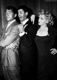 Dean Martin, Jerry Lewis and Marilyn Monroe!