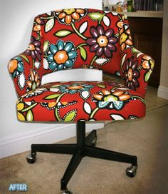I want this type of chair for my craft table (not crazy about the design) love the chair style