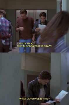 freaks and geeks..pretty much how I felt!