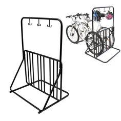 Buy 6 Bike Floor Parking Rack Storage Bicycle Stand | $89