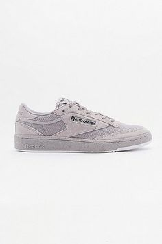 huge discount 51e29 af38e Reebok Club C 85 LST Whisper Grey 3M Speckle Trainers