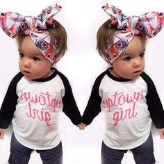 2016 Autumn Girl Baby T Shirts Clothes Long Sleeve Toddler Girls Cotton Outfits Blackwhite Letter Baby Shower Gift Tops H1-in Tees from Mother & Kids on Aliexpress.com   Alibaba Group