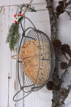 Feeding our feathered friends this winter:) cheeprooms.blogspot.com